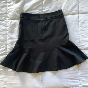 White House Black Market High Rise Flare Skirt